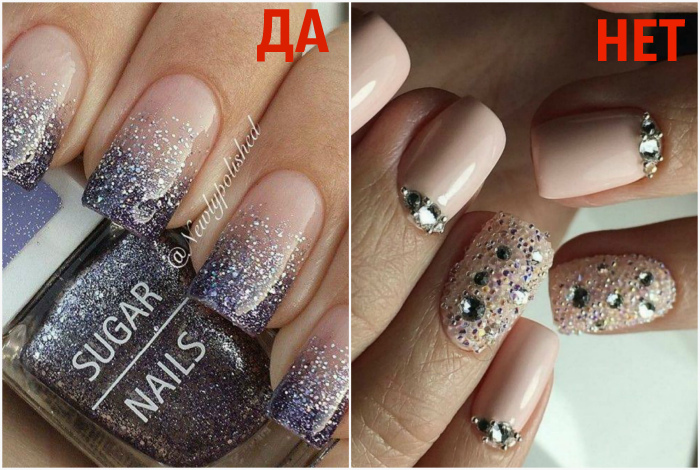 Материалы для декора ногтей.