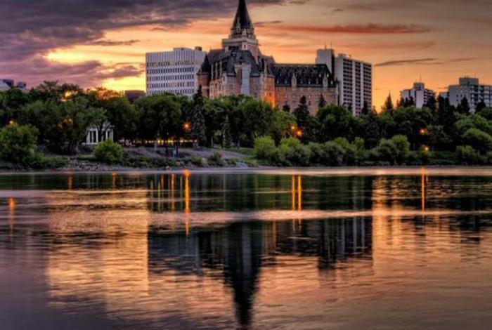 Провинция Канады Саскачеван.