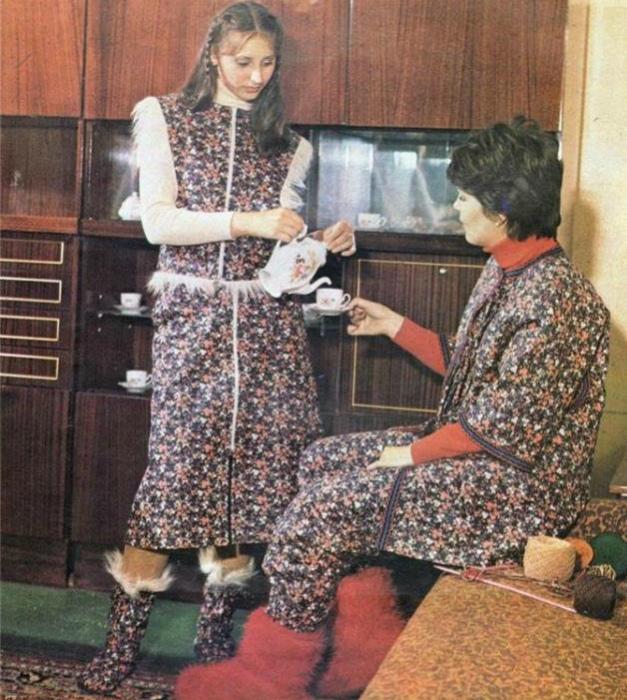 Домашний стиль одежды. | Фото: Libo.Ru.