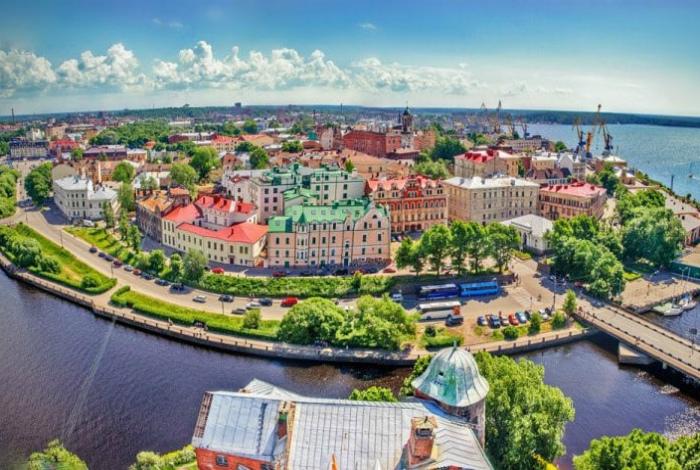 Островок Европы в центре России.