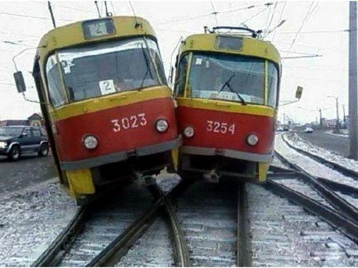 Гонка двух трамваев.