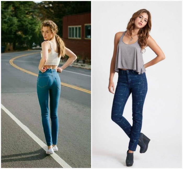Пара идеальных джинсов.