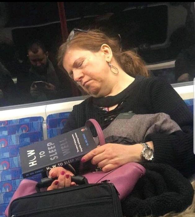 Кажется, сейчас она спи хорошо! | Фото: Karma Decay.