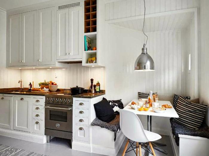 Кухня в стиле бистро.