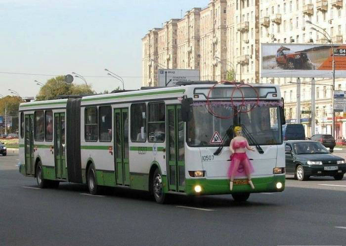 Транспорт молодоженов.