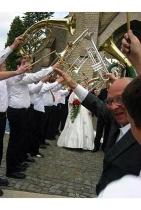 Типичная немецкая свадьба.