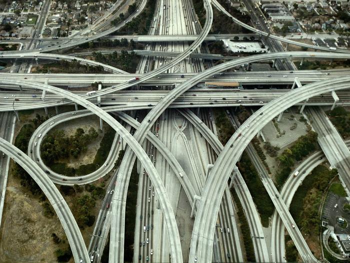 Архитектурное чудо в Лос-Анджелесе.