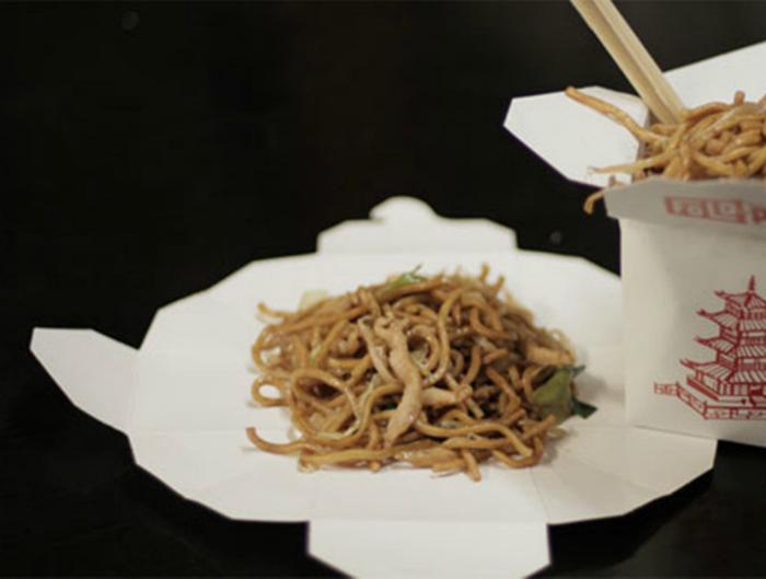 Правильное использование контейнеров для китайской еды.