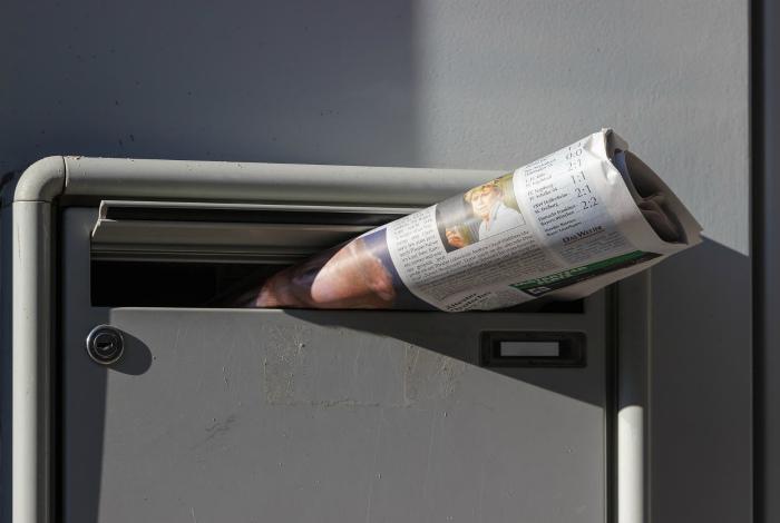 Пустой почтовый ящик. | Фото: The Lewis Workplace Pension Trust.