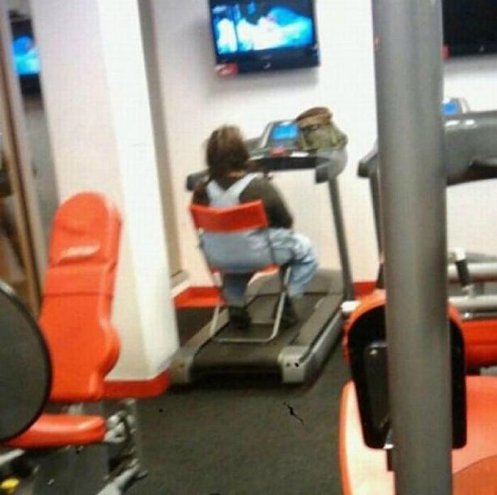 Бодрящие упражнения.