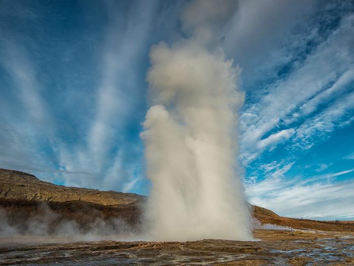 Центральное водоснабжение в Исландии.