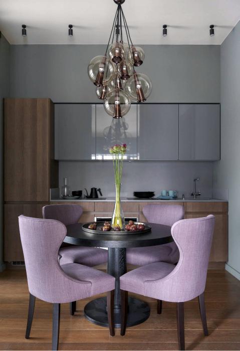 Кухня в классическом стиле. | Фото: Интерьеры, дизайн.