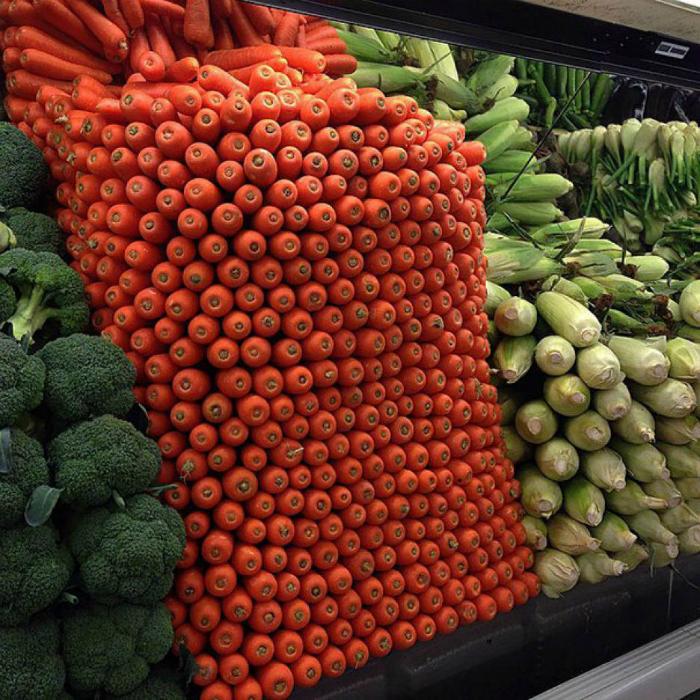 Идеальный овощной отдел.