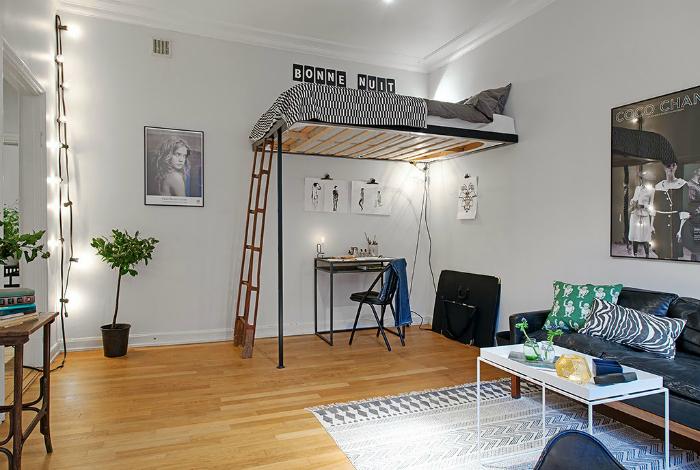 Оформление однокомнатной квартиры.