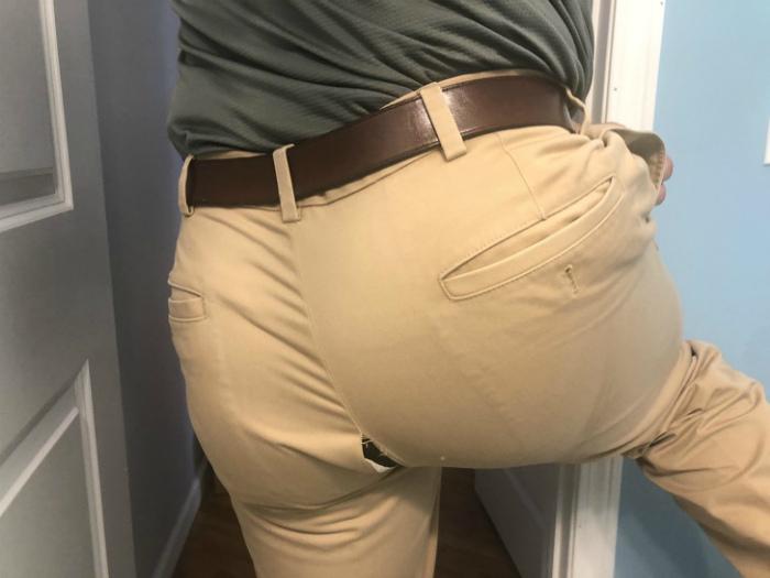 Штаны-штаны... Что же вы так подвели... | Фото: Best Funny Photos.