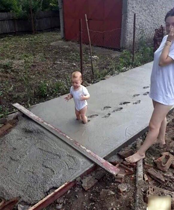 Один из «счастливых» аспектов родительства. | Фото: XopoM News.
