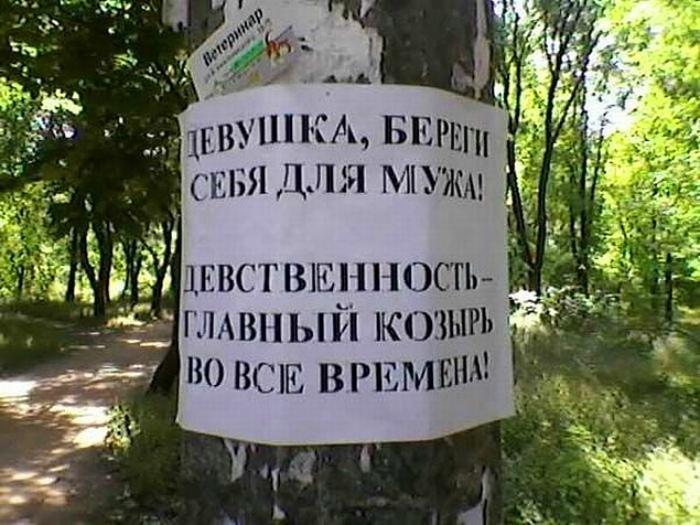 Едешь в лес? Береги девственность! | Фото: Onedio.