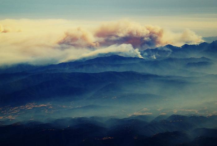 Лесной пожар. Фотограф: Ричард Скунберг.
