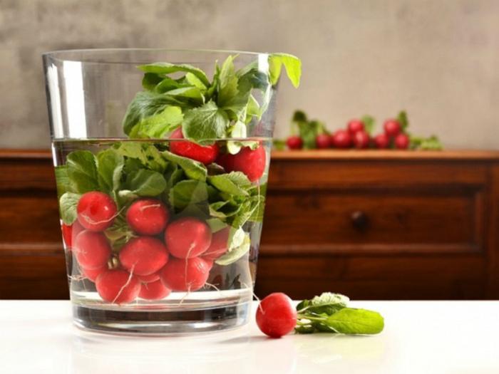 Быстро освежить овощи. | Фото: LiveInternet.
