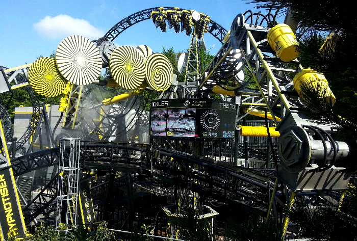 «The Smiler» в Стаффордшире. | Фото: forum.towerstimes.co.uk, topsimages.com.