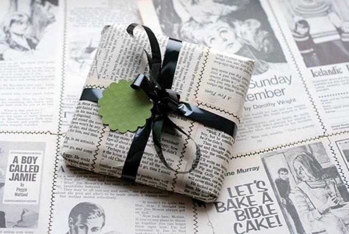 Подручные материалы для упаковки подарков. | Фото: DGL.ru.