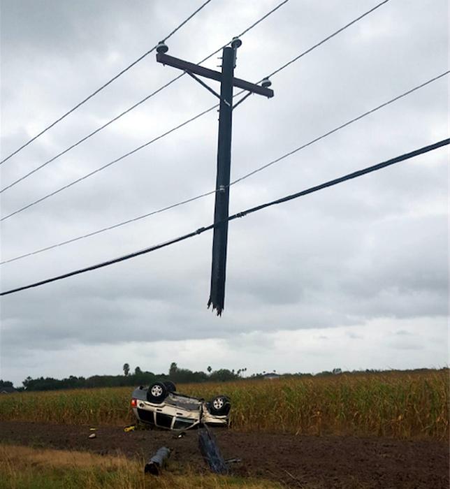 Крест над машиной.