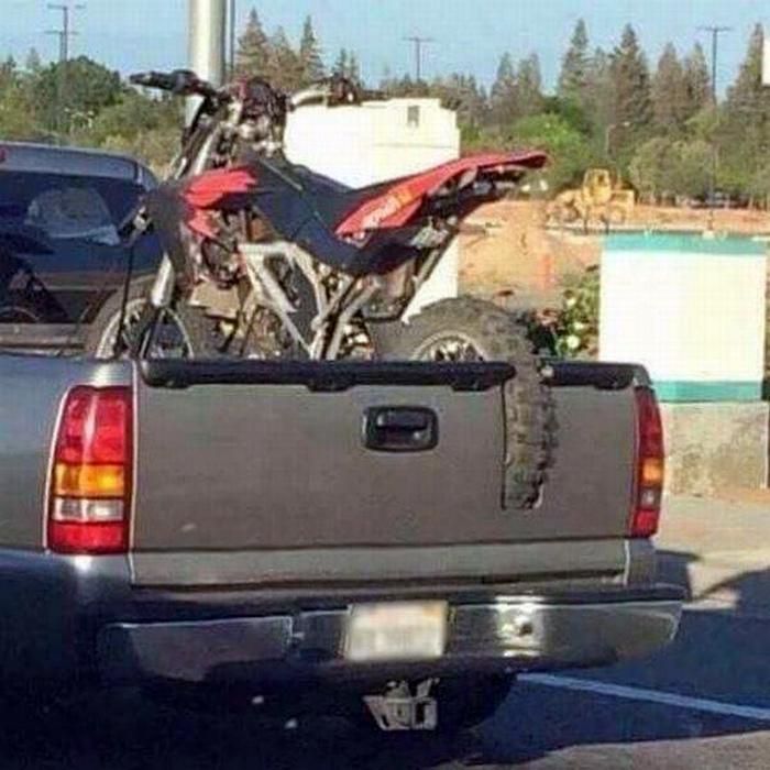 Перевозка велосипеда.