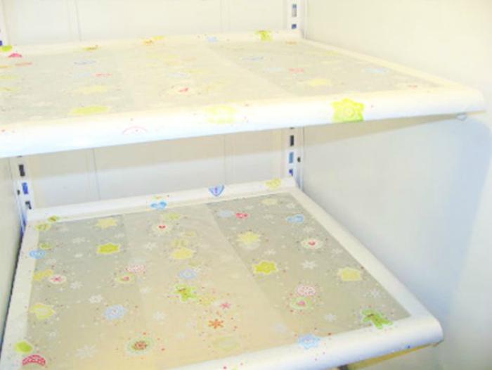 Защита полок холодильника.
