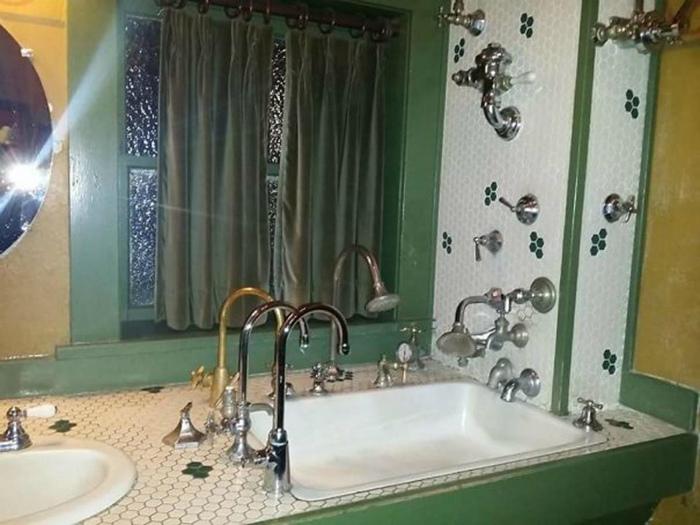 Дизайнерская ванная комната.