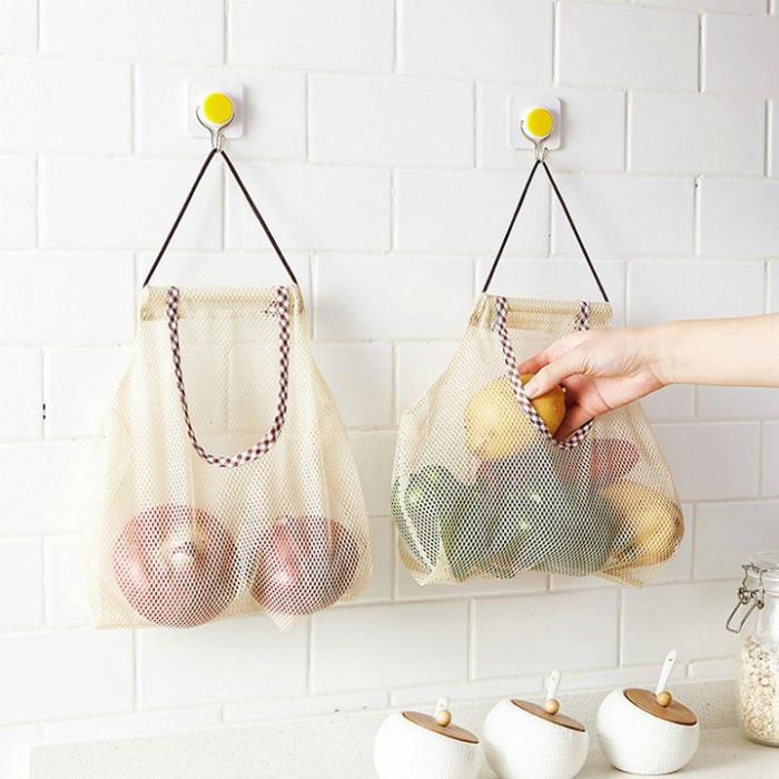 Хозяйственные сумки для хранения. | Фото: Bigomart.Info.