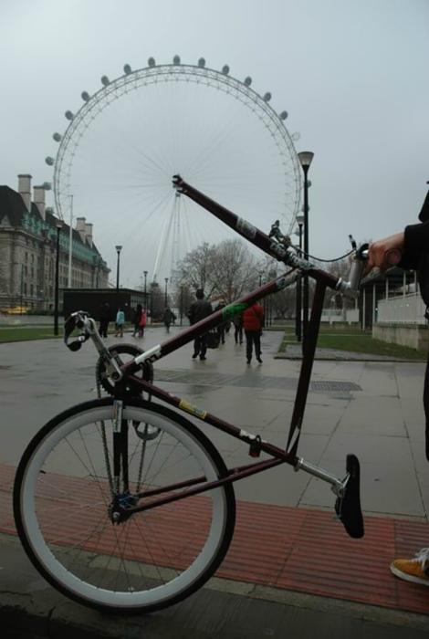 Колесо велосипеда.