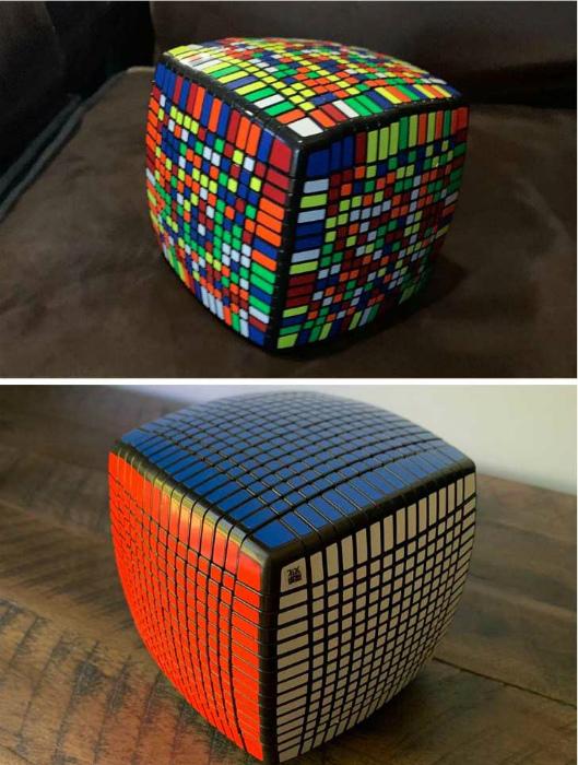 Кубик Рубика для профессионалов. | Фото: ЯПлакалъ.