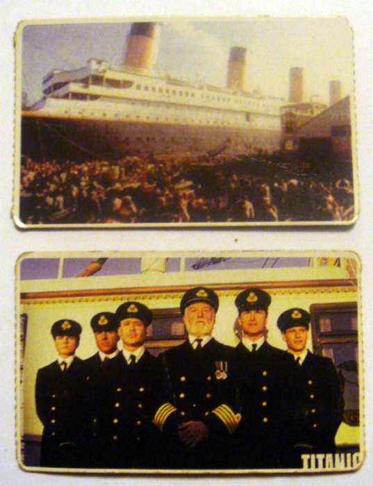 Карточки с кадрами из фильма «Титаник». | Фото: uCoz.