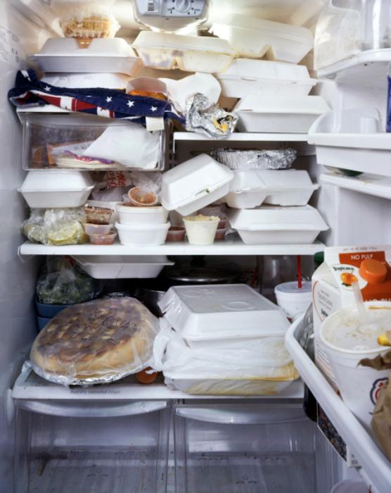 Продукты в холодильнике. | Фото: HeaClub.