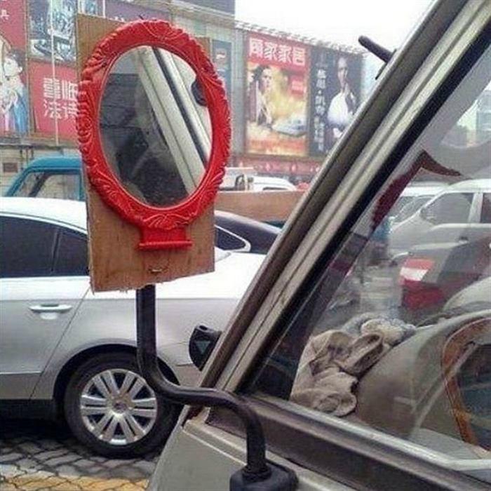 Креативное зеркало.