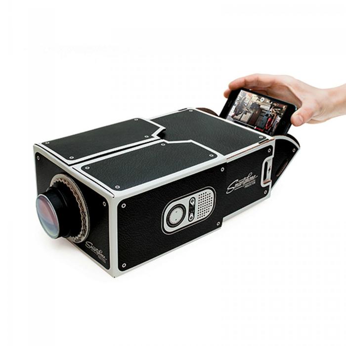 proyector compacto para smartphones.