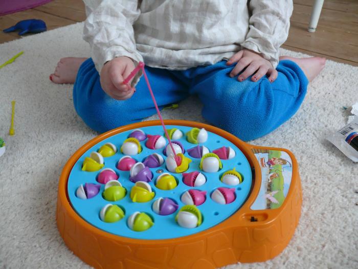 Игра, которая приводила в восторг малышей.