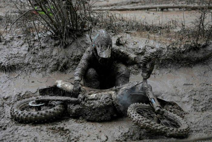 Очень грязевая ванна. | Фото: Bemethis.