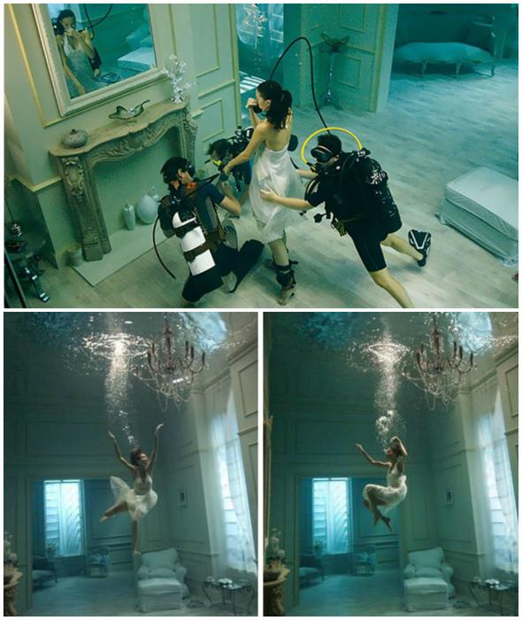 Тонкости подводной фотосессии.