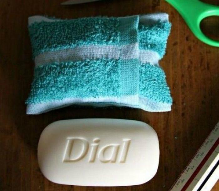 Сухое мыло вместо жидкого. | Фото: TravelFreelancer.