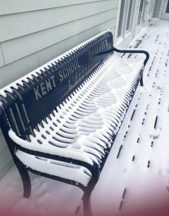 Идеальная зимняя картинка.
