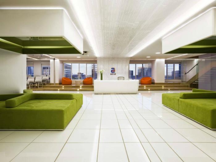 Офис в стиле модерн.