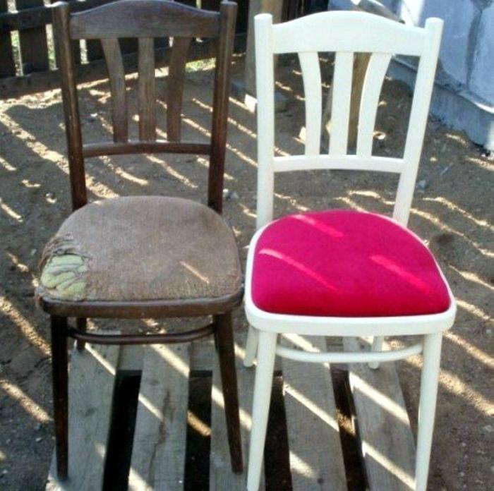 Новый вид старых стульев.
