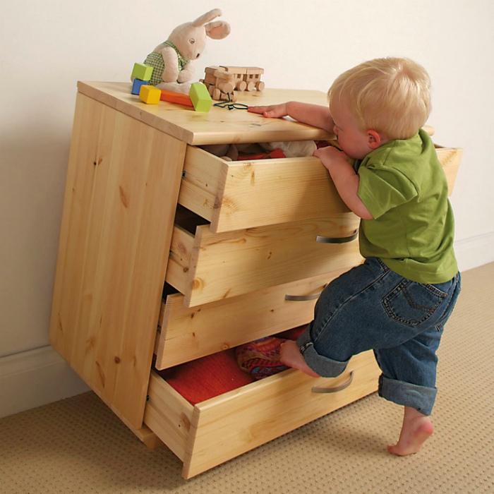 Повышаем устойчивость мебели.
