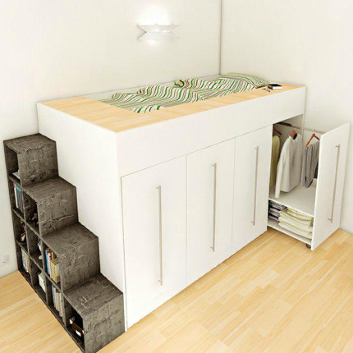 Кровать-шкаф.