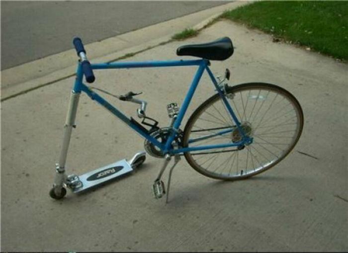 «Иди, сынок, посмотри, папка тебе велосипед сделал!»