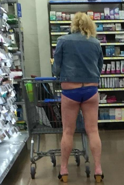 Потерянная юбка.
