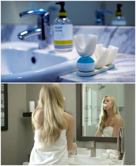 Amabrush – первая в мире автоматическая зубная щетка.