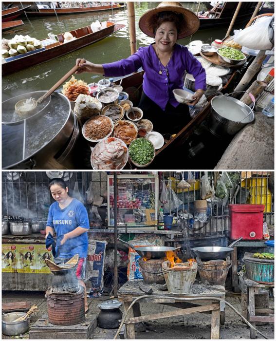 Кухня в Таиланде.