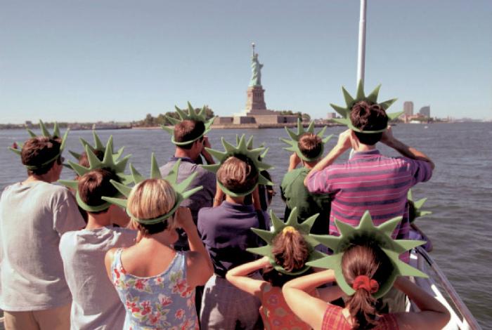 Фанаты Статуи Свободы.